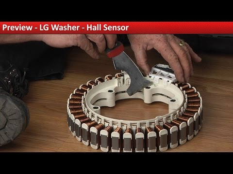 LG WT1001CW Washer – LE error code – Hall Sensor | Appliance Video