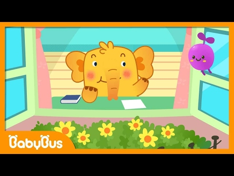 ❤ One Elephant Went Out To Play    Nursery Rhymes   Kids Songs   BabyBus