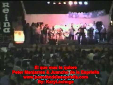 Video: El que mas te quiere Peter Manjarres & Juancho de la Espriella Parranda en Barranquilla