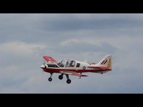 Scottish Aviation Bulldog @ Dunsfold Wings & Wheels 2014 (HD)