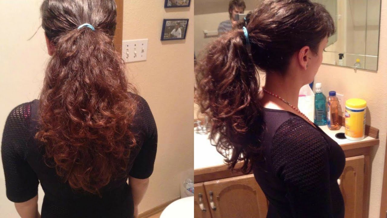 Haircut Long And Curly To A Pixie Cut Youtube