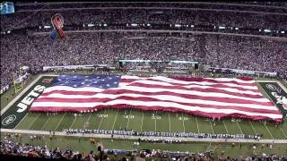 Taps Played Before Cowboys vs. Jets Game - 9/11 Tribute (9-11-2011)