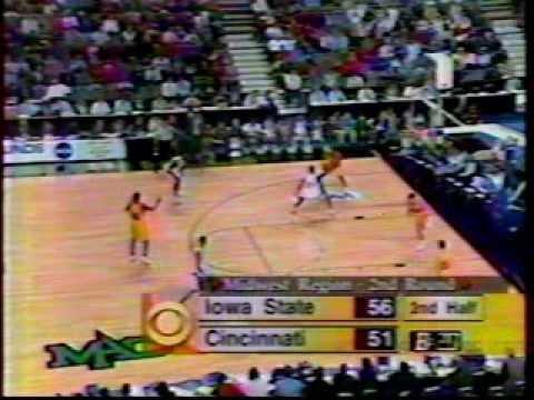 1997 Iowa State win over Cincinnati 67-66