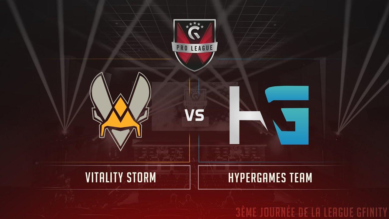 GFINITY PRO LEAGUE - 3ème Journée - Team HyperGames vs Team Vitality