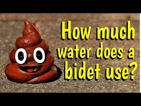 How Much Water Does A Backpacking Bidet Use Youtube