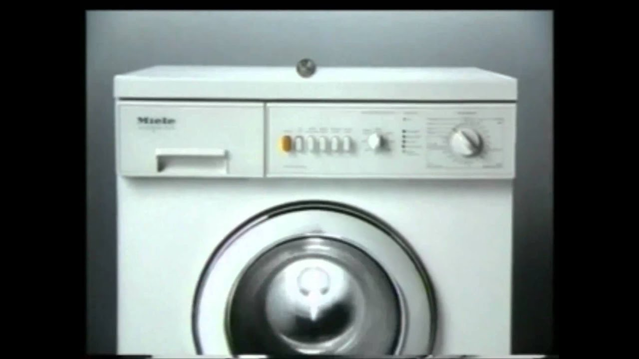 Miele Washing Machine >> 1992 - Miele [Coin] - YouTube