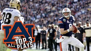 Highlights: Auburn's top 3 plays against Purdue in Music City Bowl