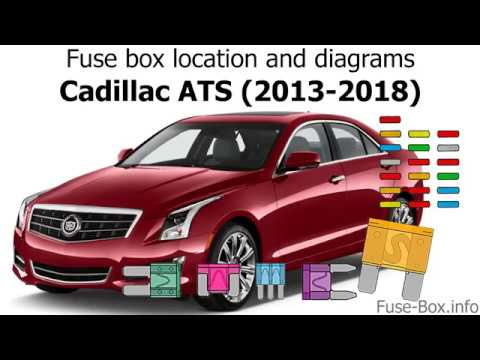 fuse box location and diagrams cadillac ats 2013 2018. Black Bedroom Furniture Sets. Home Design Ideas
