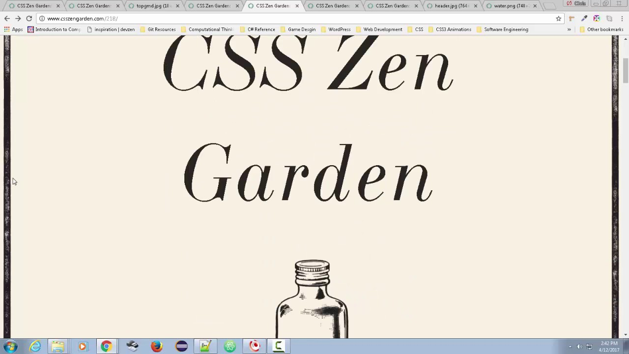 tiling background graphics on web pages examples from css zengarden - Css Zen Garden