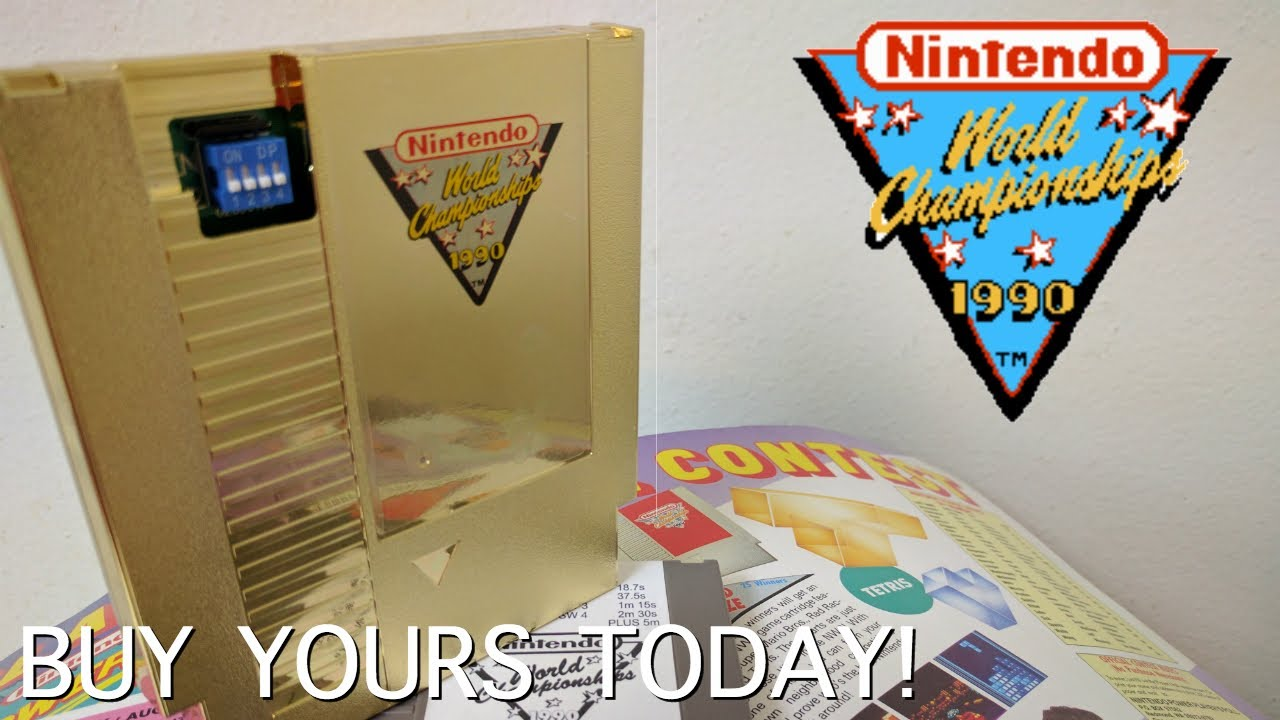 Add The Gold Nwc Cart To Your Collection Nintendo World