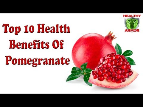 Top 10 Health Benefits Of Pomegranate | Eating Pomegranate Benefits