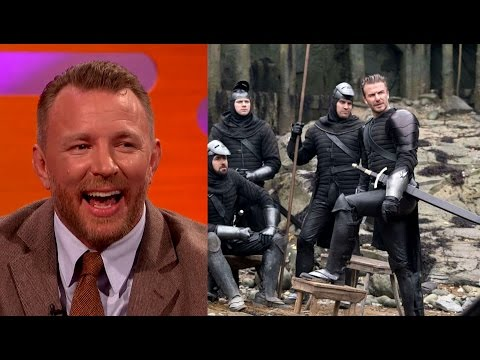How David Beckham Wound Up In King Arthur   The Graham Norton