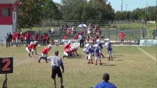 Sarasota Redskins Paiute Davenport #2 TD