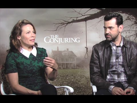 Lili Taylor & Ron Livingston Interview - The Conjuring (JoBlo.com)