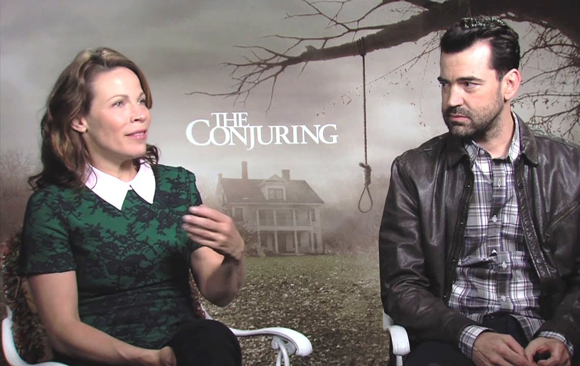 Lili Taylor & Ron Livingston Interview - The Conjuring ...