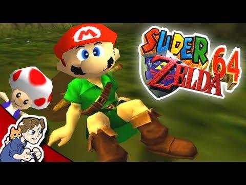 Mario 64 + Zelda: Ocarina of Time?! | Super Zelda 64 #1 | ProJared Plays