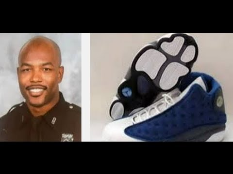 Trifling Texas police officer steals a pair of Jordans during a drug raid