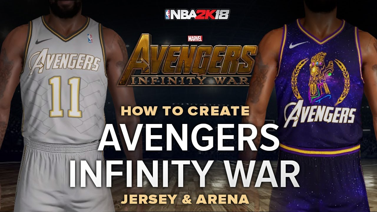 62a2dd22121 NBA 2K | Avengers Infinity War Jersey and Arena Tutorial | NBA.city