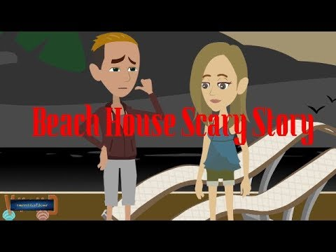Beach House Scary Story(Animated in Hindi) |IamRocker|