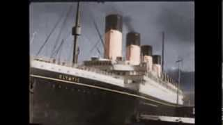 "RMS Olympic- ""The Last Voyage"", British Movietone 1935 in color"