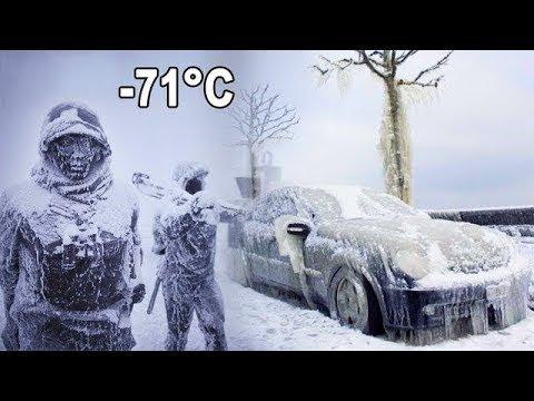 ¡Así Es Como Los Humanos Sobreviven En El Lugar Más Frío De La Tierra!