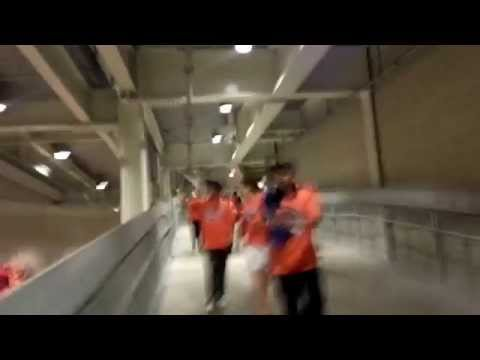 The7Line Bronx Invasion - Let's Go Mets Chant Post-game