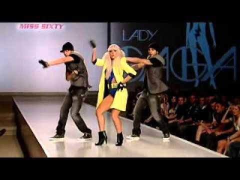 Lady Gaga on Miss Sixty 2008
