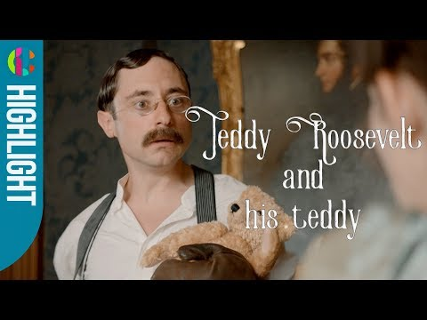 Theodore Roosevelt and Teddy Bears | Horrible Histories