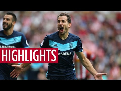 MATCH HIGHLIGHTS | Sunderland V Boro, August 2016