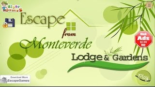 Escape From Monteverde Lodge and Gardens Eightgames walkthrough, .