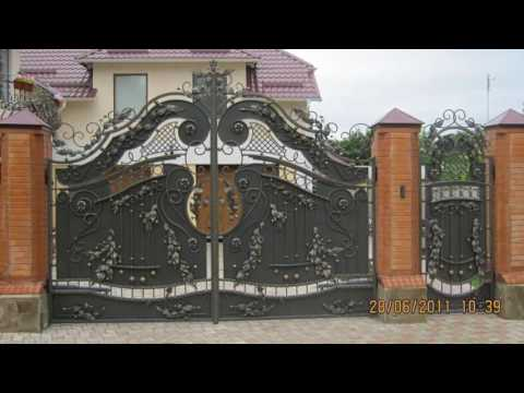Заборы Калитки Ворота Фото