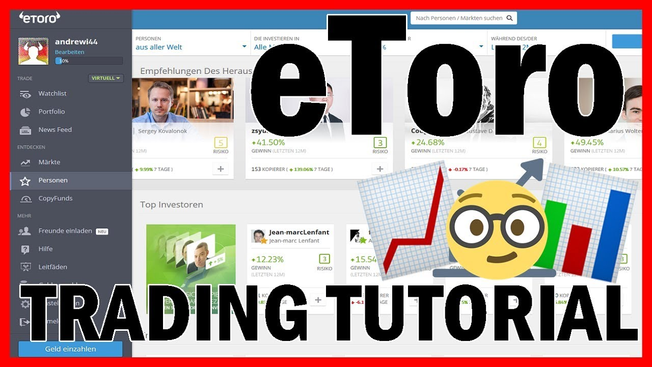 36. Live CFD Trading - Tutorial for beginners - YouTube