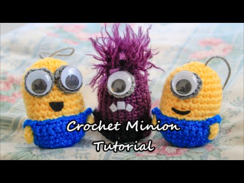 Crochet (Amigurumi) Minions Tutorial - YouTube