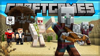 FARM de PILLAGERS usando GOLEMS! - Craft Games 225