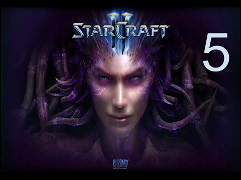 Starcraft 2: Heart of the Swarm Campaign - Mission 5 - Shoot the Messenger