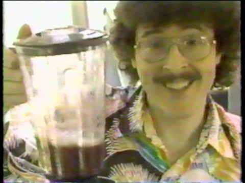 Weird Al Yankovic on TOTAL PANIC 1989 Rare TV Footage