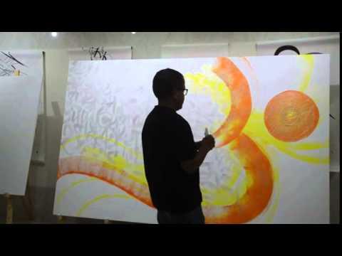 Shaurya Art - Live Demo By Achyut Palav