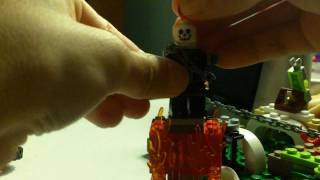 How to make an awesome lego ghost rider mini fig.