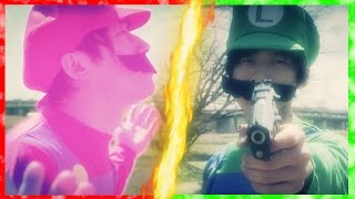 【実写版マリオ】もしもスター状態が永遠に続いたら… / Super Mario endless star thumbnail
