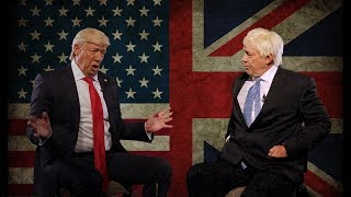 Donald Trump meets Boris Johnson