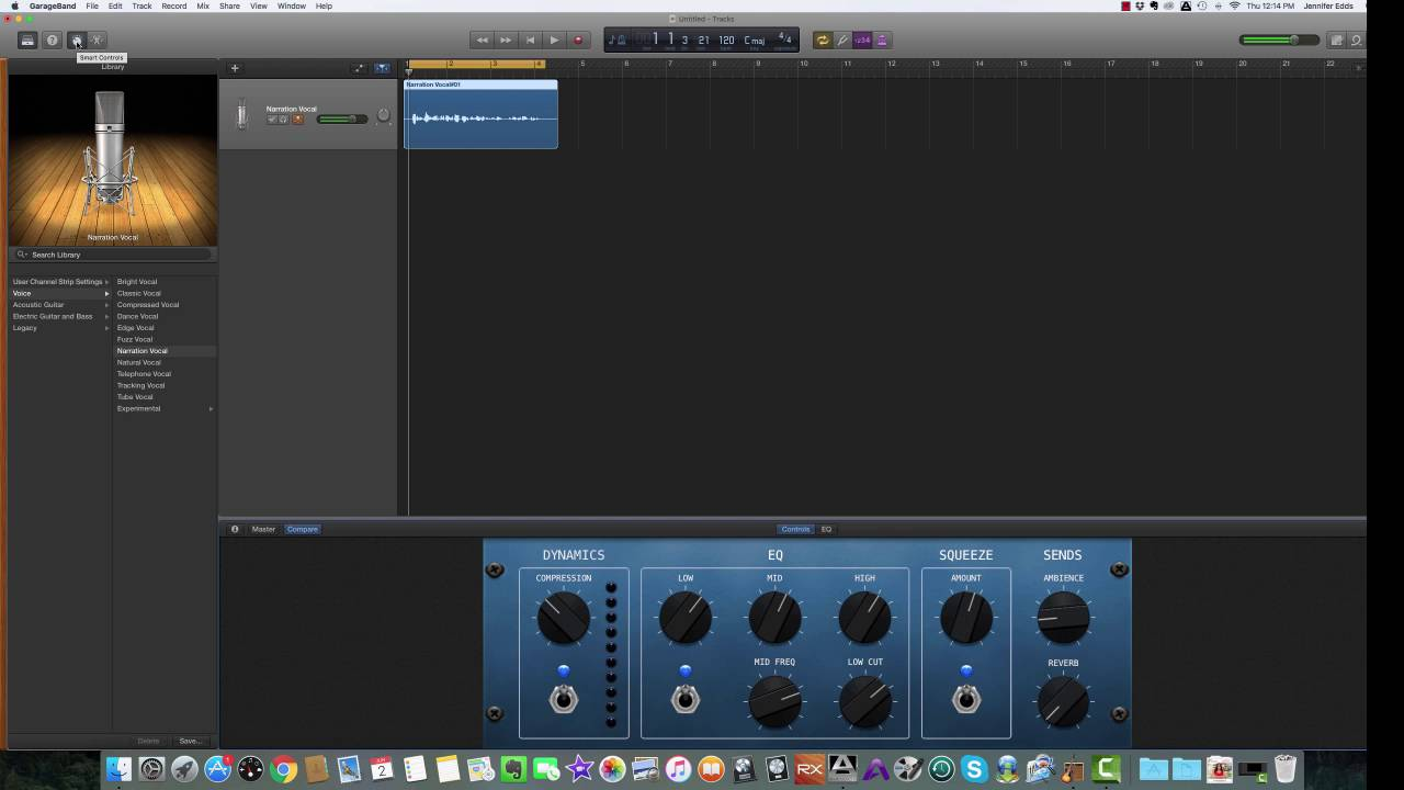 Garageband Na Pc How To Record Your Podcast Intro In Garageband Part 1