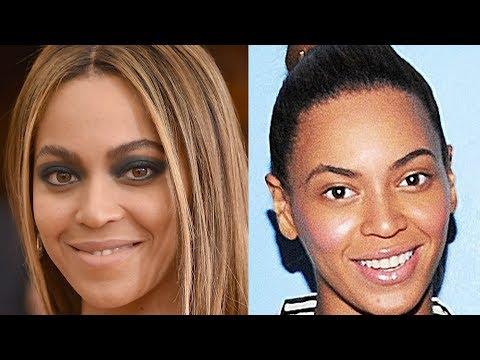 Beyoncé Without Makeup