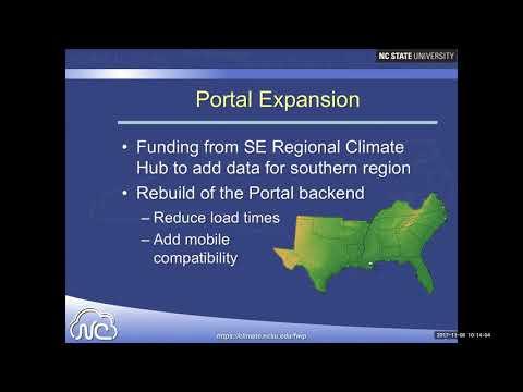 SFE Webinar: Fire Weather Intelligence Portal