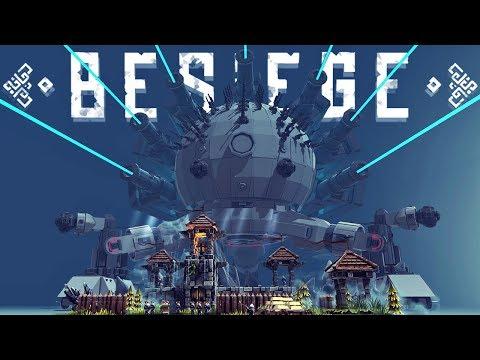 The Largest Combat Vehicles In Besiege - Besiege Best Creations