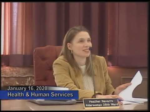 Health & Human Services Committee - January 16 2020