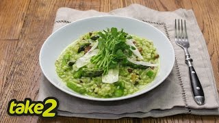 Spring Risotto Recipe With Asparagus
