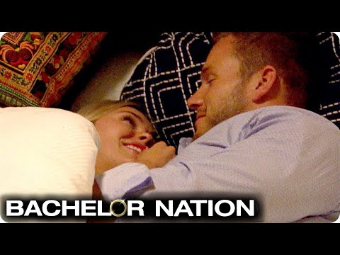 Cassie Gets In Bed With Colton On First Date | The Bachelor US