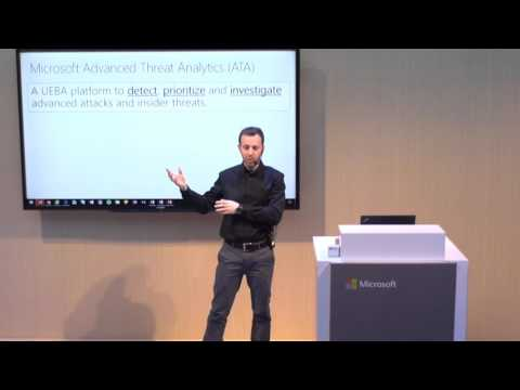 Catching advanced attacks and insider threats with Microsoft ATA