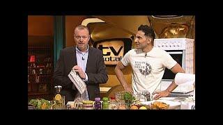 Vegan kochen mit Attila und Stefan Raab  TV total