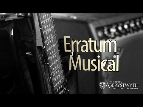 School of Art - 'Erratum Musical'